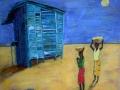 SOLEIL D'AFRIQUE -  20 x 20 - 200.00$