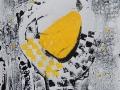 L UNIQUE POIRE -  Monotype 9 x 12 encre sur papier