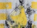 POIRE - Monotype  9 x 12  encre  sur papier