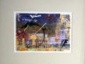 CHAOS EN BANLIEUE - 16 x 20 - MONOTYPE - 100.00$