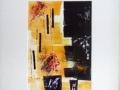 FLEURS EN POT - 16 x 20 - MONOTYPE - 100.00$