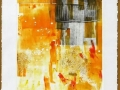 LUNCH TIME - 16 x 20 - MONOTYPE - 100.00$