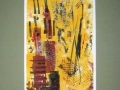 NEW YORK DOWNTOWN - 16 x 20 - MONOTYPE - 100.00$