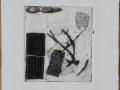 SANS TITRE - COLLOGRAPHIE  - 7 x 8 - 40.00$