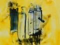 LES NONNES   -  Acrylique sur papier  Yupo  5 x 5 - 30.00$
