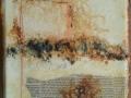 VAGUE D ÉCRITURE - Papier marouflé sur toile - imitation accoustique